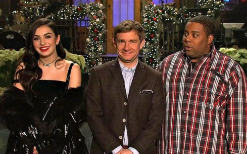 SNL Host Martin Freeman (Screengrab)