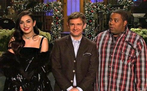 SNL Host Martin Freeman (Screengrab)